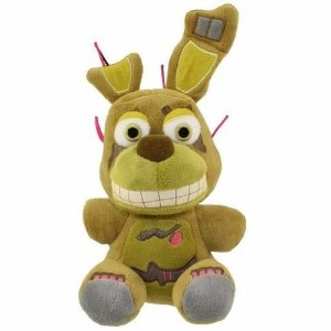 Pelúcia Five Nights At Freddys FNAF Springtrap 18cm