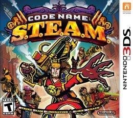 Jogo Code Name Steam Cartucho Nintendo 3DS