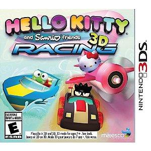 Jogo Hello Kitty e Sanrio Friends 3D Racing Cartucho Nintendo 3DS