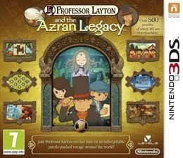 Jogo Professor Layton And The Azran Legacy Cartucho Nintendo 3DS