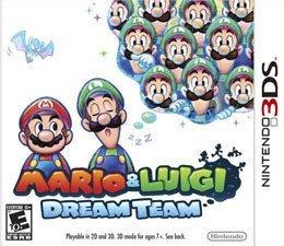 Jogo Mario e Luigi Dream Team Cartucho Nintendo 3DS