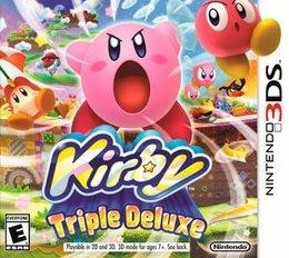 Jogo Kirby Triple Deluxe Cartucho Nintendo 3DS