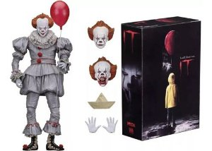 Action Figure IT A Coisa Pennywise Articulado