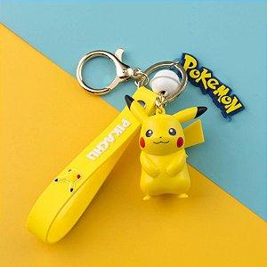 Chaveiro Pokémon Pikachu Takara Tomy