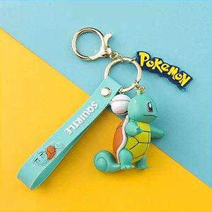 Chaveiro Pokémon Squirtle Takara Tomy