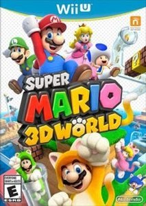 Jogo Super Mario Bros 3D World Nintendo Wii U