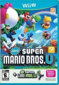 Jogo New Super Mario Bros U + New Super Luigi U Nintendo Wii U
