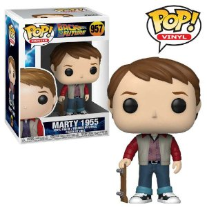 Funko Pop De Volta para o Futuro Back To The Future Marty 1955 #957
