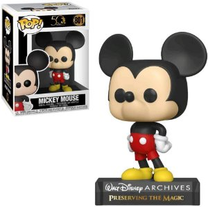 Funko Pop Disney Archives 50th Mickey Mouse #801