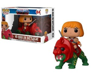 Funko Pop Rides Masters of The Universe - He-Man On Battlecat #84