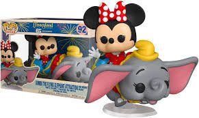Funko Pop Rides Disney Disneyland 65th Anniversary Minnie Flying Elephant Attraction #92