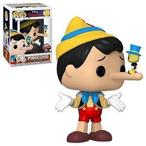 Funko Pop Disney Pinoquio Pinocchio Exclusivo Special Edition #617