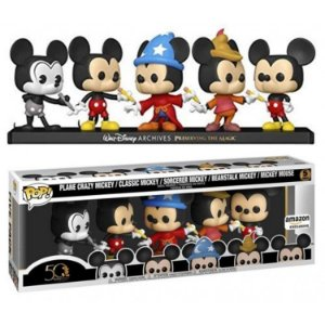 Funko Pop Disney Archives Mickey Mouse 5 Pack