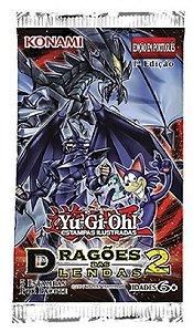 Yugioh Dragões das Lendas 2 Booster Cards BR