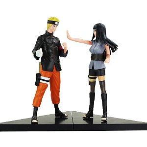Action Figure Naruto Naruto Uzumaki + Hinata Hyuga
