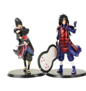 Kit 2 Action Figure Itachi + Madara Uchida - Naruto