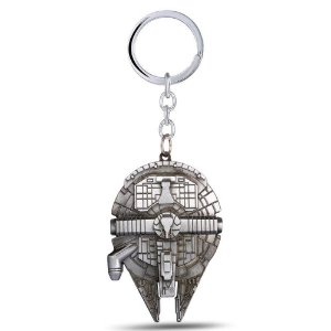 Chaveiro Nave Millenium Falcon Star Wars Metal 3D
