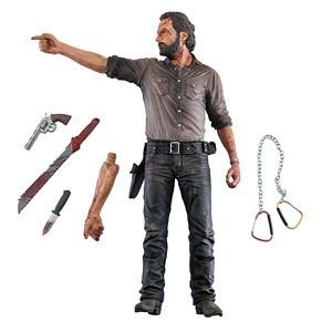 The Walking Dead Rick Grimes Vigilante Edition Deluxe Figure McFarlane