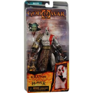 Action Figure God of War Kratos Medusa Head