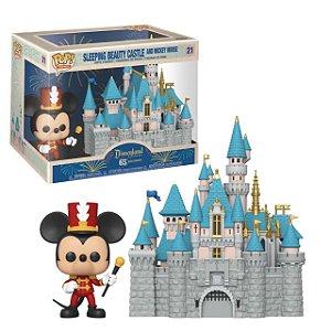 Funko Pop Disneyland Resort 65th Anniversary Sleeping Beauty Castle And Mickey Mouse
