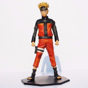Naruto Uzumaki Boneco 26cm Master Star Piece Banpresto Anime