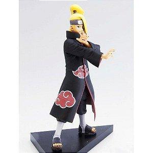 Naruto Shippuden Deidara Akatsuki Boneco Pvc 16cm Anime