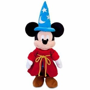 Pelucia Mickey Mago Fantasia Original Disney Store