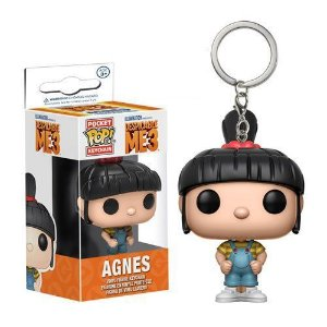 Chaveiro Pocket Pop Disney Meu Malvado Favorito Agnes