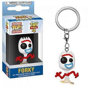 Chaveiro Pocket Pop Disney Toy Story Forky Garfinho