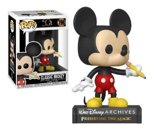 Funko Pop Disney Archives 50th Classic Mickey Mouse #798