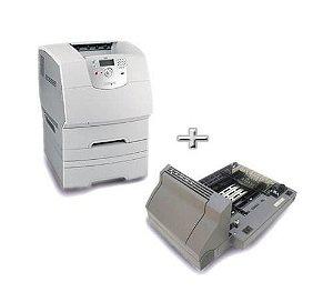Impressora Laser Lexmark T644 644 Revisada Com Toner E Duplex