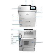 IMPRESSORA HP M605DNM M605DN M605 L3U53A  CF281X