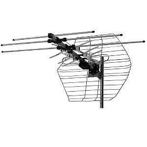 Antena Castelo Externa Tipo Parabólica M7000 VHF, UHF, FM e Digital