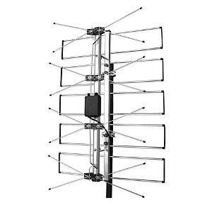 Antena Castelo Externa Castcolor M2045 UHF com Amplificada