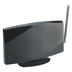 Antena Castelo Digiblack M1038 VHF, UHF, FM e Digital