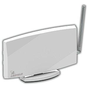 Antena Castelo Digiwhite M1098 VHF, UHF, FM e Digital