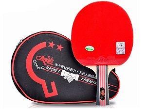 Raquete Tênis de Mesa Friendship 729 + Raqueteira Grátis