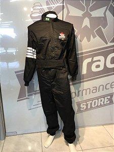 Vestuário Anti-chama Pro Race (Macacão) Preto