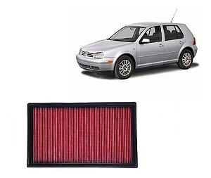 Filtro De Ar Esportivo Inbox VW Golf 1.6/ 1.8/ 2.0 1997 a 2007 (Filtro na caixa lateral do motor)