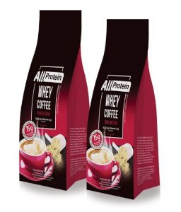 2 Pacotes de Whey Coffee Mocaccino 600g (24 doses) - All Protein
