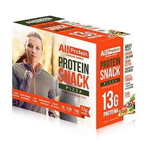 1 Caixa de Snack Protein Pizza All Protein 7 unidades de 30g - 210g
