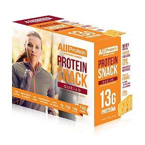 1 Caixa de Protein Snack Queijo All Protein 7 unidades de 30g - 210g