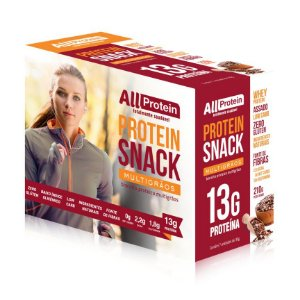 1 Caixa de Snack Protein MultiGrãos All Protein 7 unidades de 30g - 210g