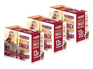 3 Caixas de Protein Snack MultiGrãos All Protein 21 unidades de 30g - 630g