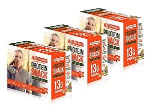 3 Caixas de Protein Snack Pizza All Protein 21 unidades de 30g - 630g