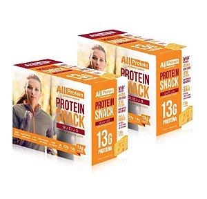 2 Caixas de Protein Snack Queijo All Protein 14 unidades de 30g - 420g