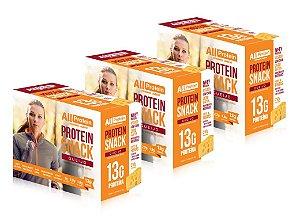 3 Caixas de Protein Snack Queijo All Protein 21 unidades de 30g - 630g
