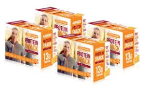 4 Caixas de Protein Snack Queijo All Protein 28 unidades de 30g - 840g
