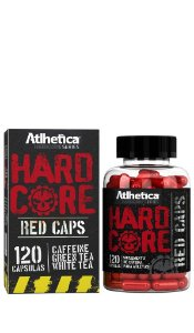 Hardcore Red Caps (120 caps) - Atlhetica Nutrition