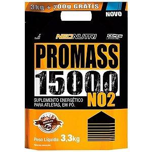 Pro Mass NO2 15000 Refil (3kg + 300g Grátis)